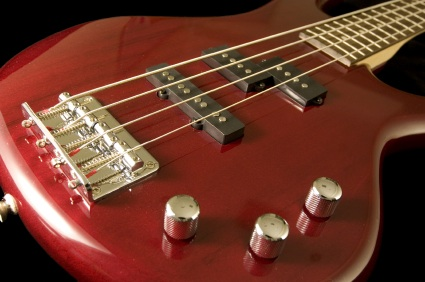 electric bass audio recording